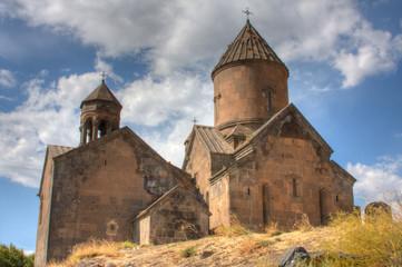 Saghmosavank Medieval Church in Armenia