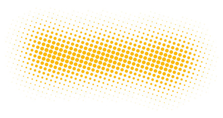 Techno Weiss/Orange Wall mural