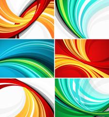 Colour vector backgrounds