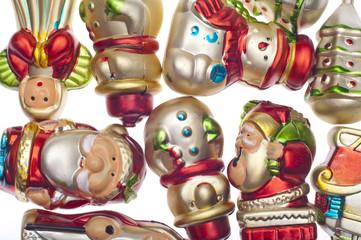 Holiday Retro Ornament Texture