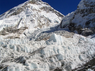 Wall Mural - Khumbu Icefall at Everest Base Camp