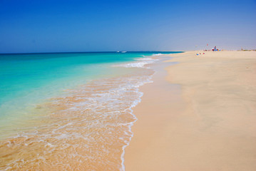 Beach at Santa Maria - Sal Island - Cape Verde