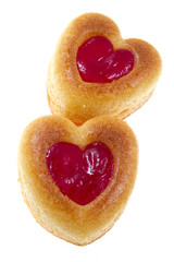 Cakes in form heart