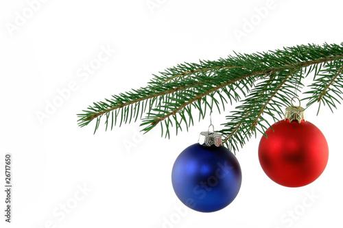 weihnachtskugel an tannenzweig stockfotos und lizenzfreie bilder auf bild 26717650. Black Bedroom Furniture Sets. Home Design Ideas