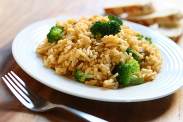 Rice with Broccoli
