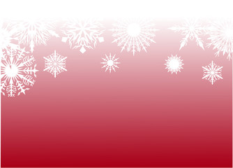 red snow background pattern