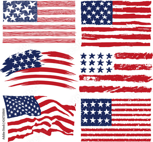 "american flags"" stock image and royalty-free vector files on"