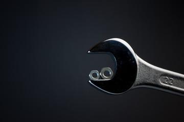 Maulschlüssel schwarz