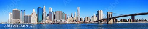 Wall mural New York City Manhattan skyline panorama