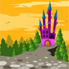 Foto op Plexiglas Kasteel Castle