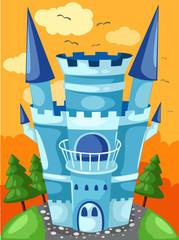 Door stickers Castle Castle