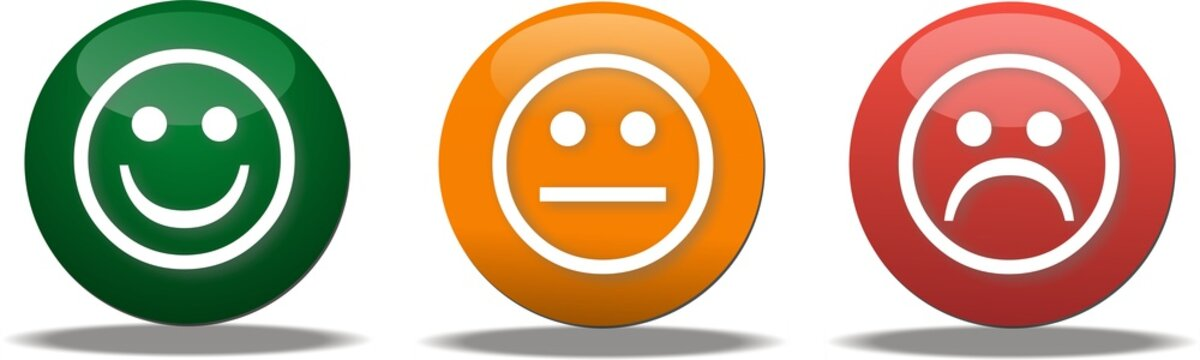 bouton smiley vote