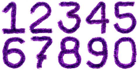 Violet digits