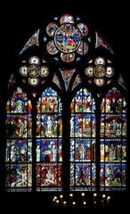 Vitrail de Notre-Dame de Strasbourg
