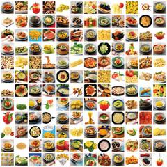 pasta italiana full collage