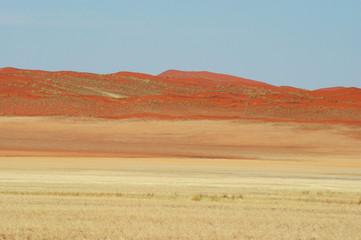 dune rouge sur la D707
