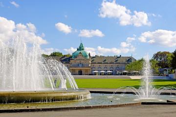 Das Kaiser-Palais im Kurpark in Bad Oeynhausen