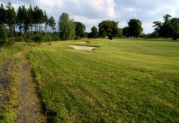 Empty Golf Course