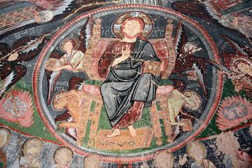 Fresque d'une église de Cappadoce