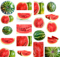 set of watermelons