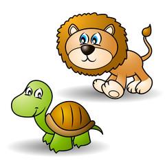 Cartoon animals set 1