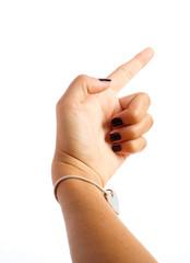 girl hand symbol