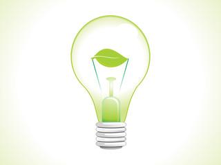 abstract eco bulb