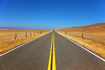 Travel to steppes of California