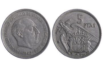 Spain coins