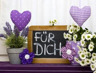 Fototapeta FÜR DICH 1 obraz