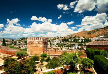 Alhambra in Spain