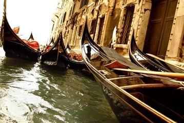 Türaufkleber Gondeln Traditional Venice gandola ride
