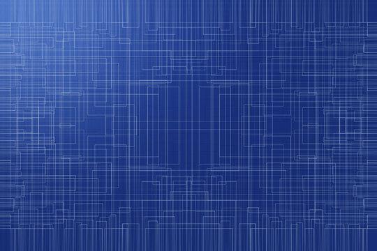 abstraktes Linienmuster