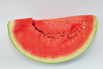A Generous Slice Of Red Watermelon