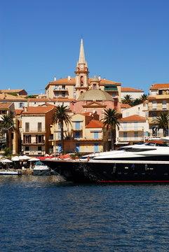 Yacht à Calvi