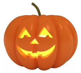 Happy Halloween Pumpkin, Jack O Lantern, clipping path