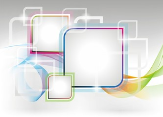 Vector coloures design background