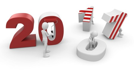 3d man with 2011 numbers