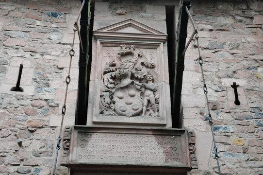 France, Alsace, château du Haut Koenigsbourg