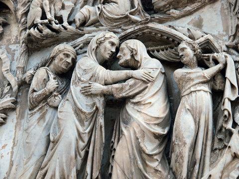 Orvieto - Duomo facade.