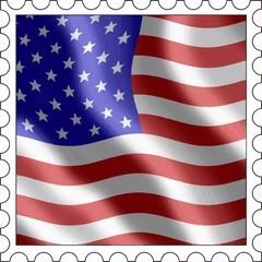 Briefmarke USA