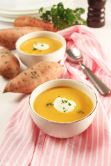 Cream of Kumara Soup