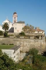 citadelle de bastia et son clocher