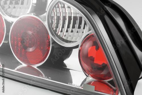 feux clairage bloc optique arri re tuning voiture photo libre de droits sur la banque d. Black Bedroom Furniture Sets. Home Design Ideas
