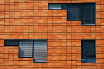 Modern architecture of Berlin in Postdamer Platz