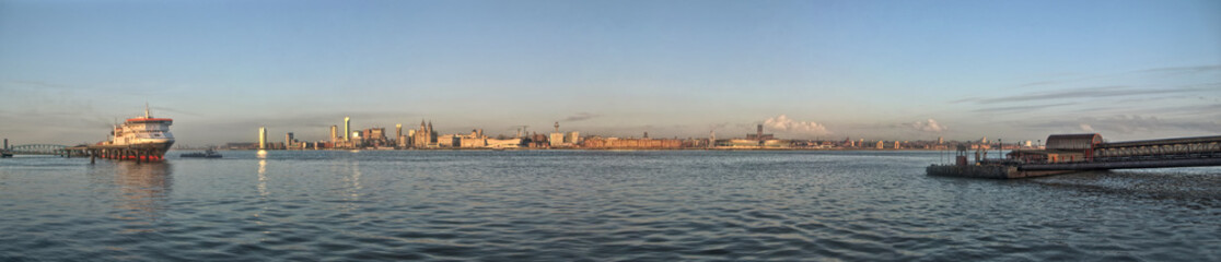 Liverpool Waterfront - Panoramic