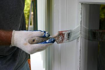 Painting Around House Windows