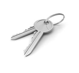 Schlüsselpaar (mit Freistellungspfad)