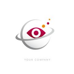 logo entreprise, oeil