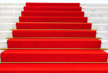 Prachtvolle Treppe